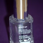 Essie Good to Go : mon premier sèche vite !