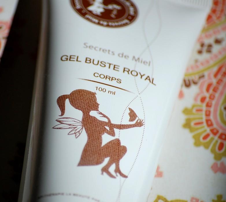gel buste royal secrets de miel une jolie surprise. Black Bedroom Furniture Sets. Home Design Ideas