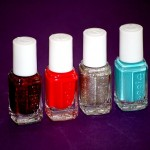 Essie winter collection + recyclage de manucure