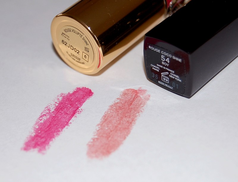 swatch rouge coco shine