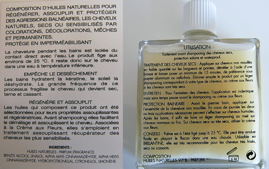 composition huile de palme leonor greyl
