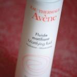 Le fluide matifiant d'Avène