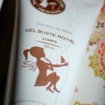 Gel Buste Royal Secrets de miel : une jolie surprise !