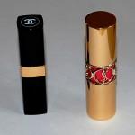Rouge Coco Shine de Chanel ou Rouge Volupte Shine d'YSL ?