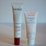Crème hydratante : Hydrance légère d'Avène VS la Crème fondante nourrissante de Caudalie